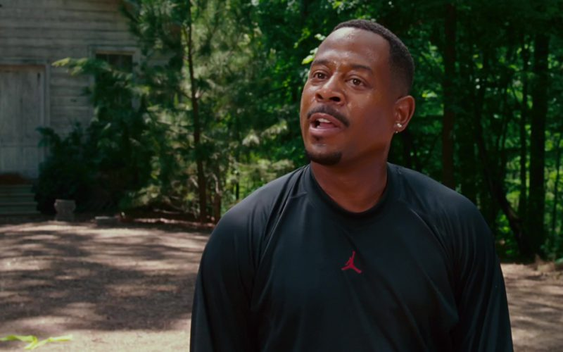Jordan Black T-Shirt Worn by Martin Lawrence in Welcome Home, Roscoe Jenkins (6)