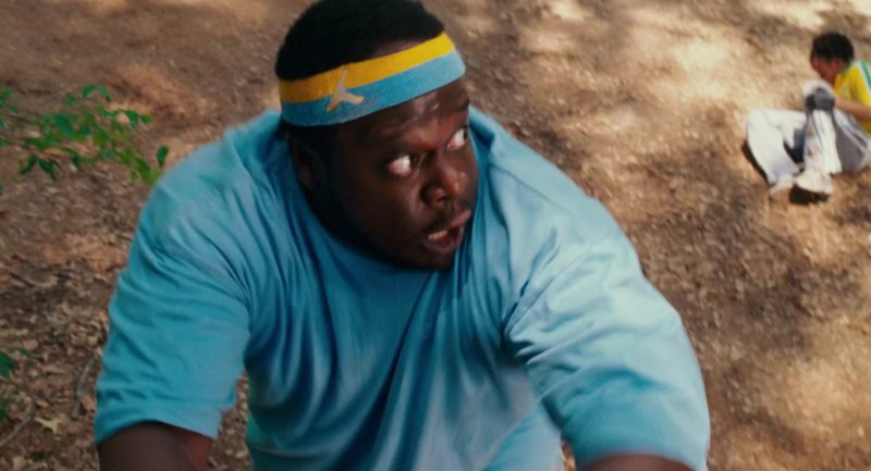 Jordan Jumpman Headband Worn by Cedric the Entertainer in Welcome Home, Roscoe Jenkins (2008) Movie Product Placement
