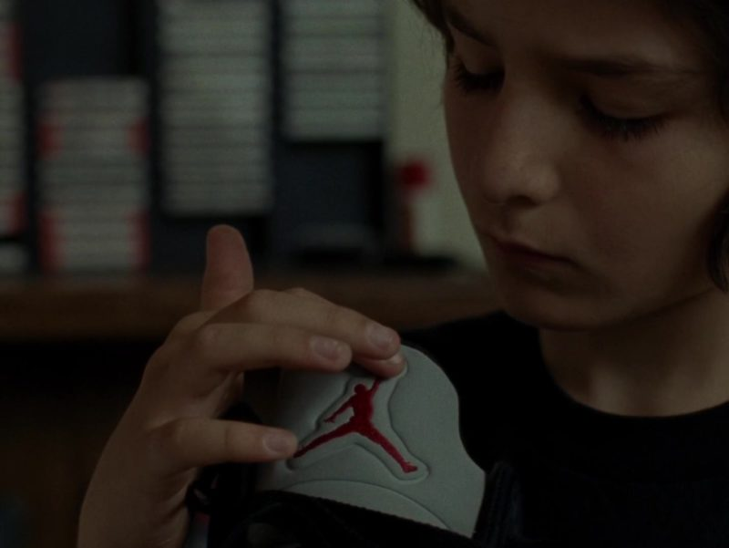 Jordan Shoes in Mid90s (2018) - Movie Product Placement