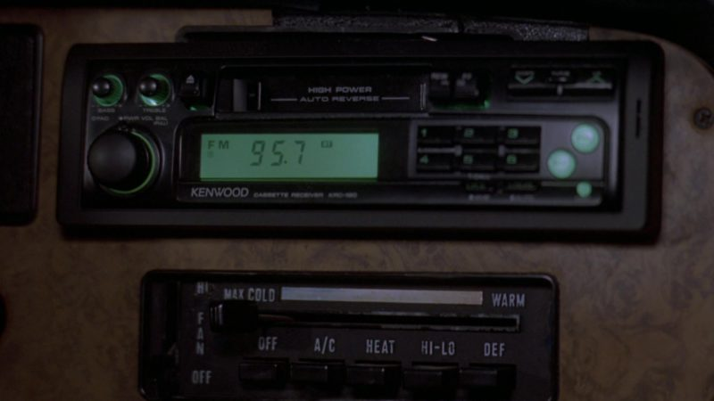 Kenwood Car Audio in Wayne's World 2 (1993) Movie Product Placement