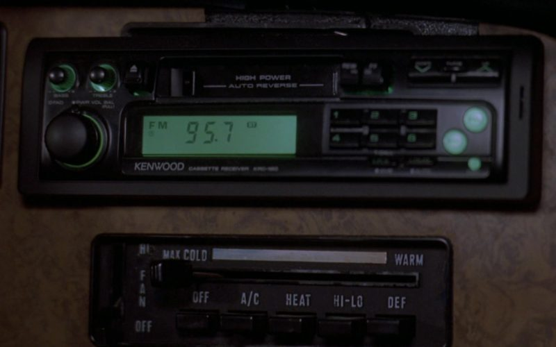 Kenwood Car Audio in Wayne's World 2