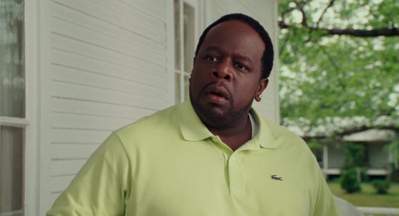 Lacoste Polo Shirt Worn by Cedric the Entertainer in Welcome Home, Roscoe Jenkins (2008) Movie Product Placement