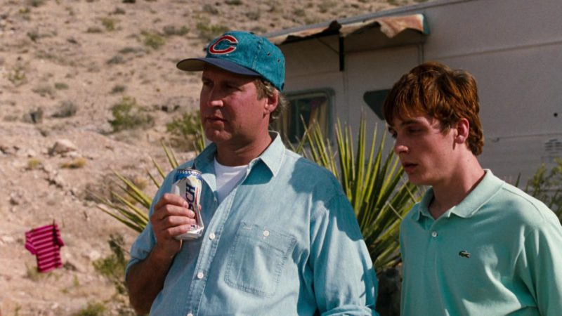 Lacoste Short Sleeve Shirt Worn by Ethan Embry in Vegas Vacation (1997) Movie Product Placement
