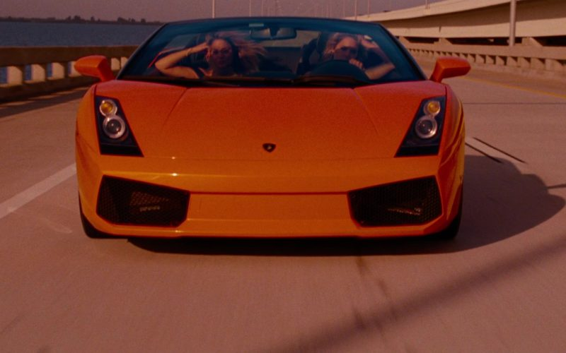 Lamborghini Gallardo Spyder Sports Car in Spring Breakers (10)