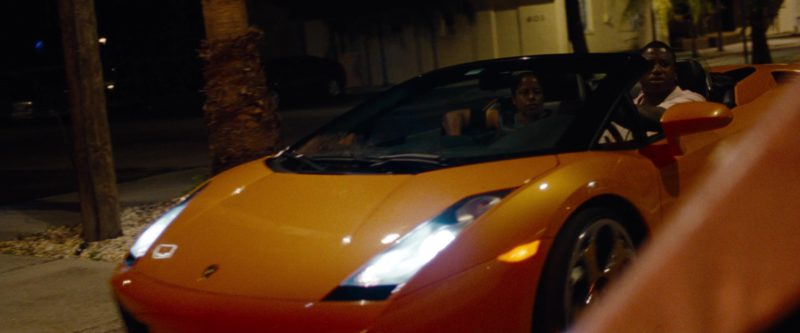 Lamborghini Gallardo Spyder Sports Car in Spring Breakers (2012) Movie Product Placement
