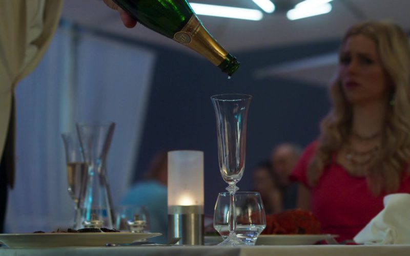 Laurent Perrier Champagne in Johnny English Strikes Again