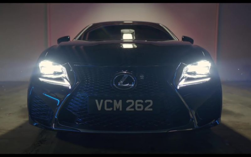 Lexus RC F Luxury Sport Car in Men in Black International (2)