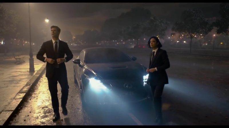Lexus RC F Luxury Sports Car in Men in Black: International (2019) - Movie Product Placement