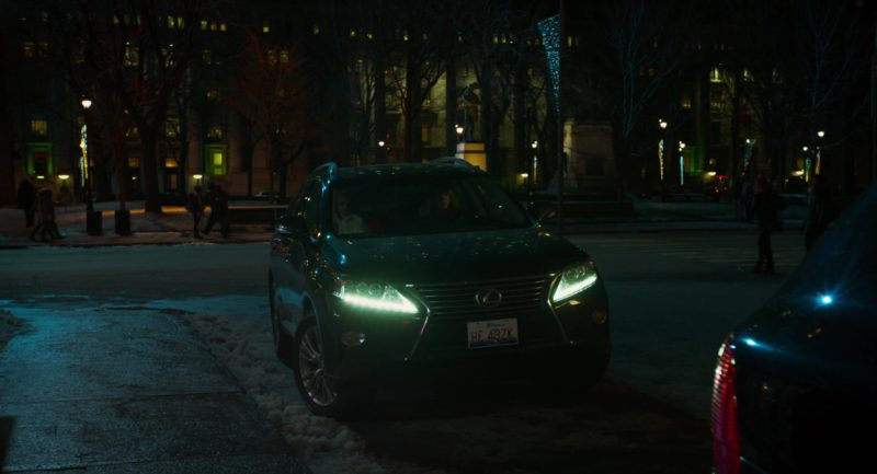 Lexus RX 450h Car Driven by Christina Hendricks in Bad Santa 2 (2016) - Movie Product Placement