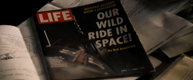 Life Magazine in First Man (2018) - Movie Product Placement