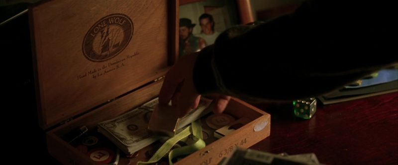 Lone Wolf Cigar Box in Rounders (1998) Movie Product Placement