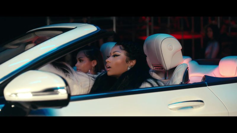 "Mercedes-Maybach S650 Cabriolet in ""Good Form"" by Lil Wayne ft. Nicki Minaj (2018) Official Music Video Product Placement"