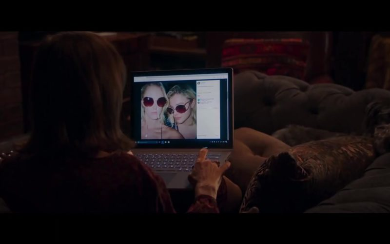 Microsoft Surface Notebook Used by Isabelle Huppert in Greta (1)