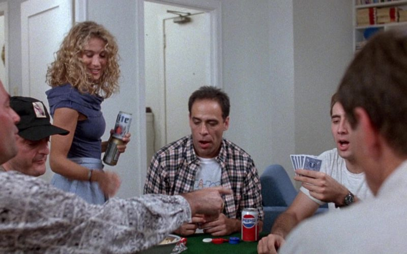 Miller Lite Beer Held by Sarah Jessica Parker and Pepsi in Honeymoon in Vegas (1)