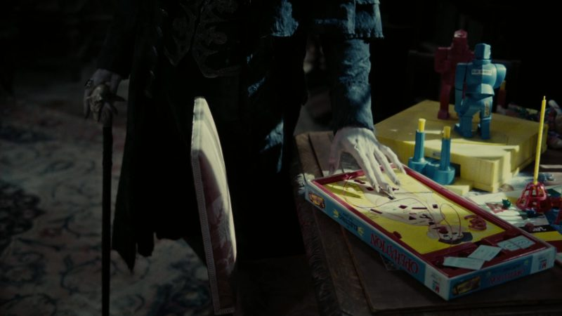 Milton Bradley Operation Game in Dark Shadows (2012) Movie Product Placement