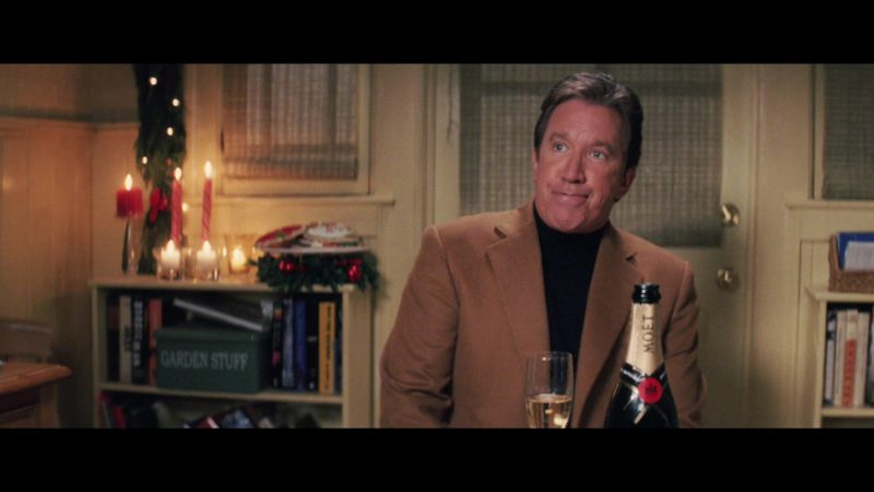 Moët Champagne in Christmas with the Kranks (2004) - Movie Product Placement