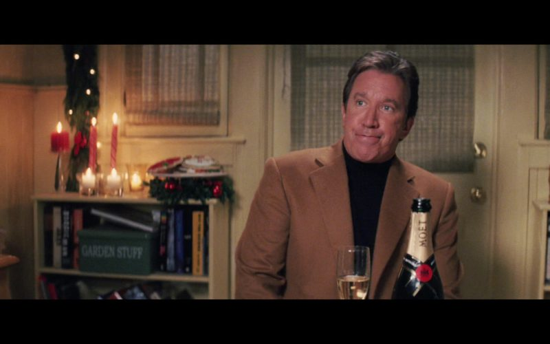 Moët Champagne in Christmas with the Kranks