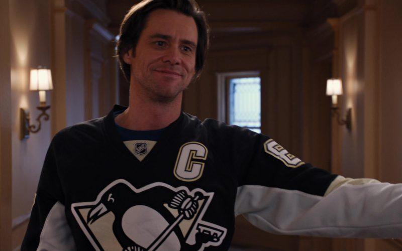 NHL Pittsburgh Penguins Ice Hockey Team Jersey Worn by Jim Carrey (3)