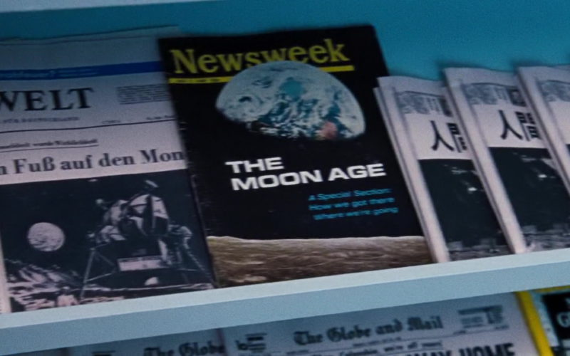 Newsweek Magazine in First Man