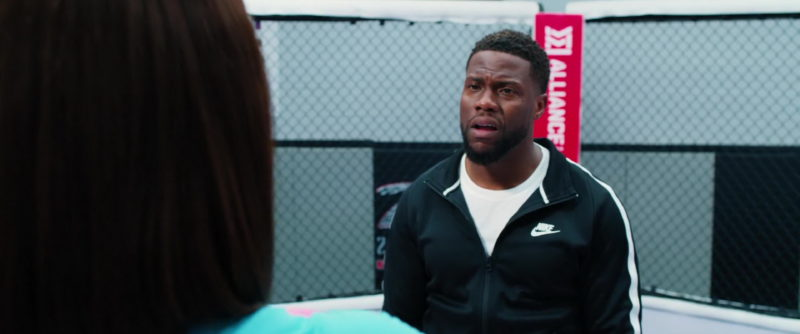 Nike Black Sports Jacket Worn by Kevin Hart in Night School (2018) - Movie Product Placement
