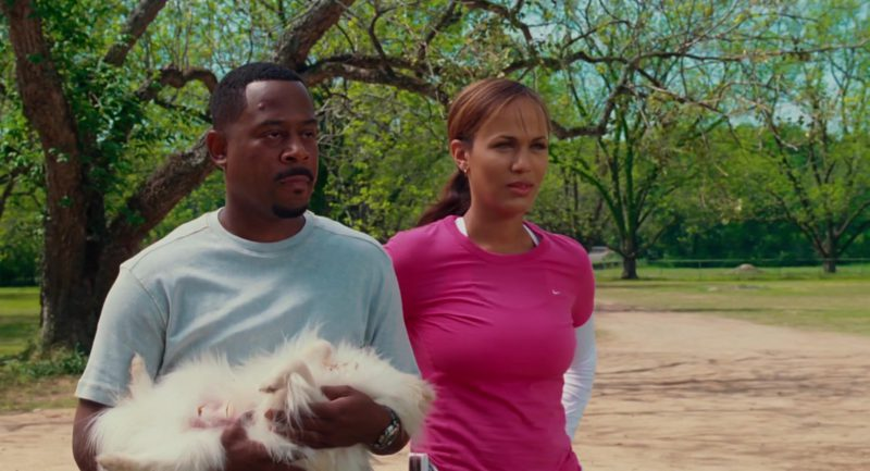 Nike Pink T-Shirt Worn by Nicole Ari Parker in Welcome Home, Roscoe Jenkins (2008) - Movie Product Placement