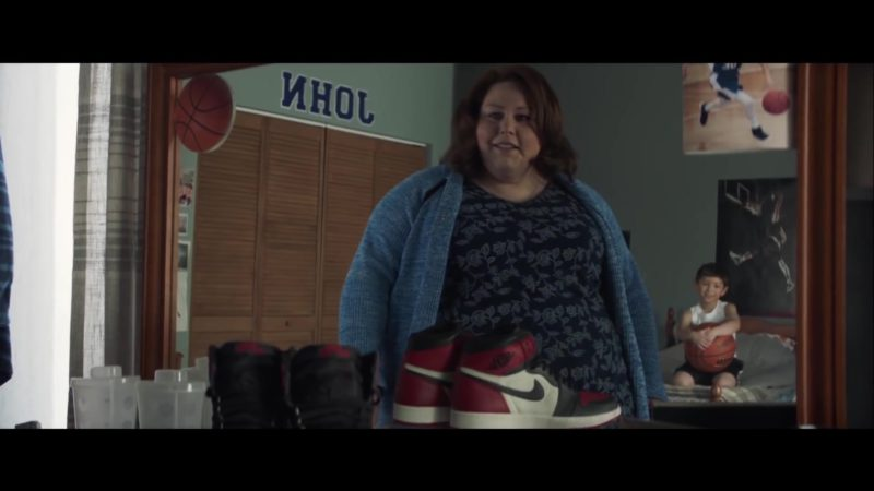 Nike Shoes in Breakthrough (2019) Movie Product Placement
