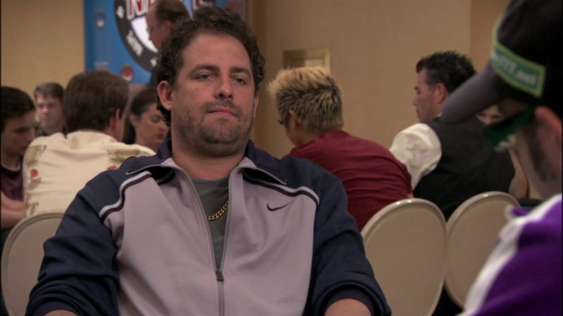 Nike Tracksuit Jacket in The Grand (2007) Movie Product Placement
