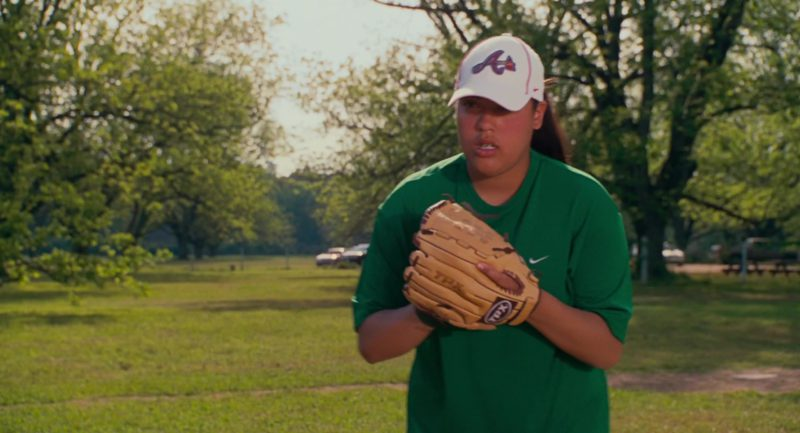 Nike Women's Green T-Shirt in Welcome Home, Roscoe Jenkins (2008) Movie Product Placement