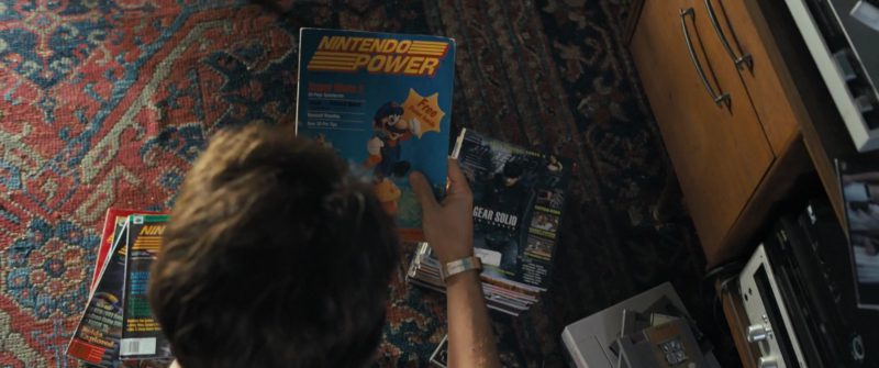 Nintendo Power Magazines in Under the Silver Lake (2018) Movie Product Placement