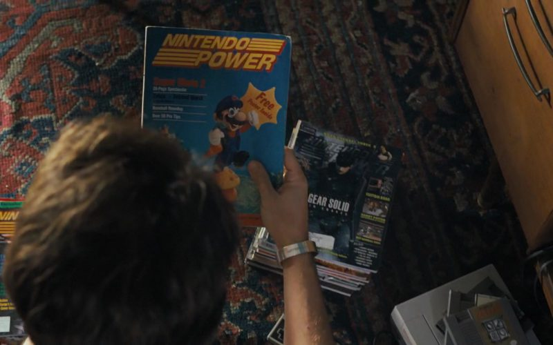 Nintendo Power Magazines in Under the Silver Lake (2)