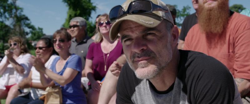 Nitrogen Sunglasses Worn by Michael Kelly in All Square (2018) - Movie Product Placement