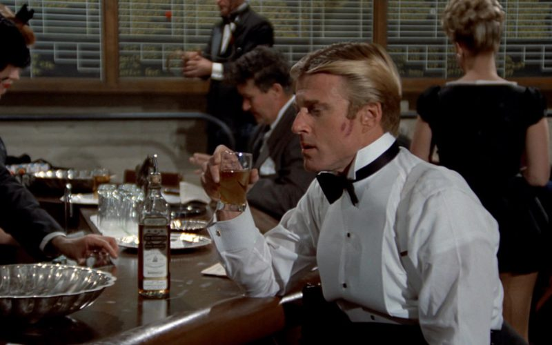 Old Bushmills Whiskey Drunk by Robert Redford in The Sting (1)