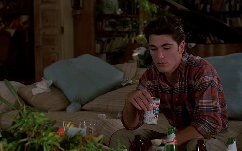 Old Style Beer Drunk by Michael Schoeffling in Sixteen Candles (1)