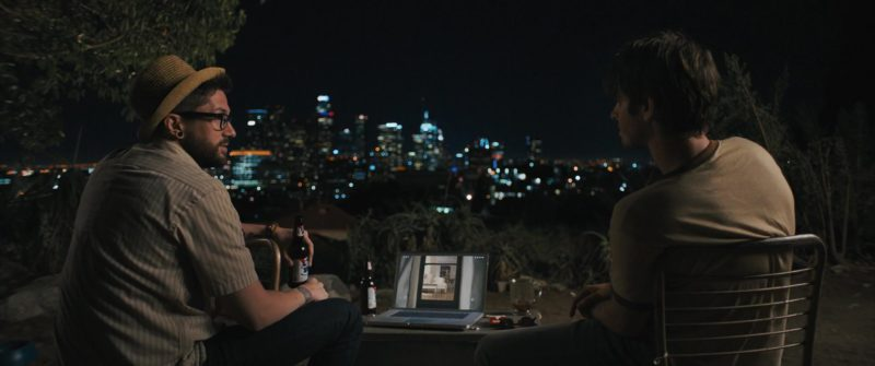 Pabst Blue Ribbon Beer in Under the Silver Lake (2018) Movie Product Placement