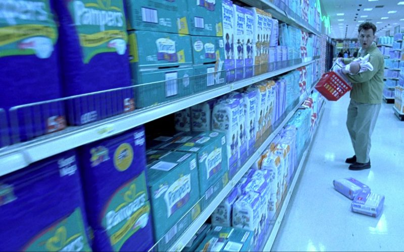 Pampers Diapers in I Am Sam