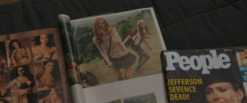 People Magazine in Under the Silver Lake (2018) - Movie Product Placement