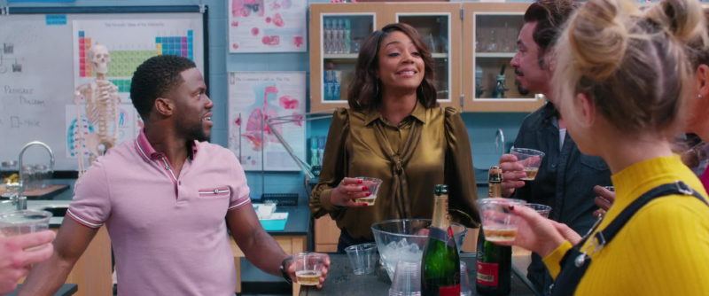 Piper-Heidsieck Champagne in Night School (2018) - Movie Product Placement