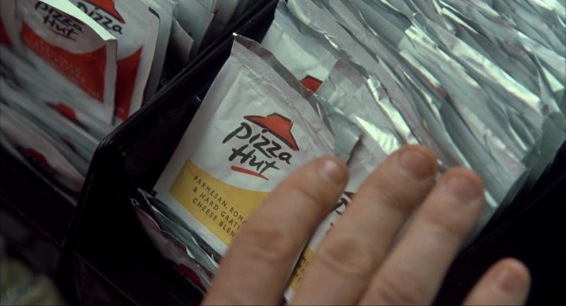 Pizza Hut Sauces in I Am Sam (2001) Movie