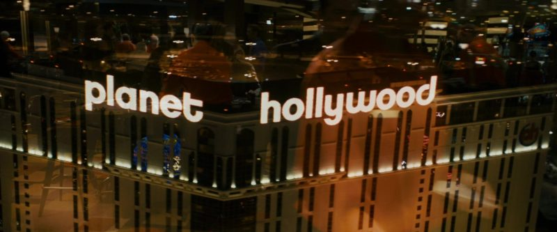 Planet Hollywood Las Vegas Resort & Casino in 21 (2008) Movie Product Placement