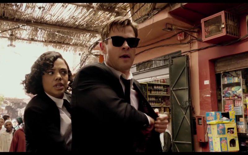 1637e77c9e508 Police Sunglasses Worn by Chris Hemsworth in Men in Black  International  (2019)