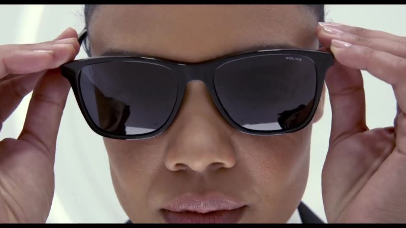 Police Sunglasses Worn by Tessa Thompson in Men in Black: International (2019) Movie Product Placement