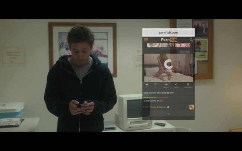 PornHub Website Visited by Jeremy Allen White in After Everything