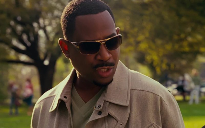 Prada Sunglasses (55HS) Worn by Martin Lawrence in Welcome Home, Roscoe Jenkins (1)