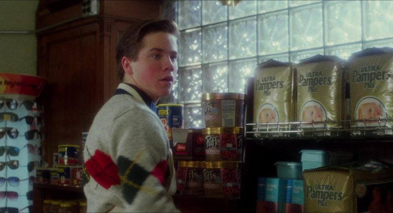 Ultra Pampers Plus and Puffs Au Prailne Candies in Home Alone (1990) Movie Product Placement