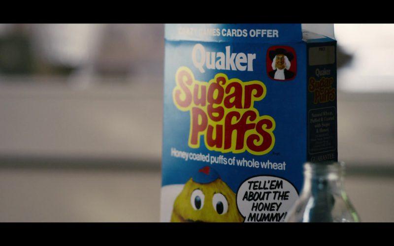 Quaker Sugar Puffs Honey-Flavoured Breakfast Cereal in Black Mirror