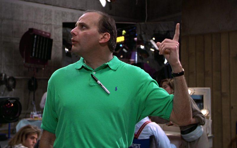 Ralph Lauren Green Polo Shirt Worn by Kurt Fuller in Wayne's World (1)