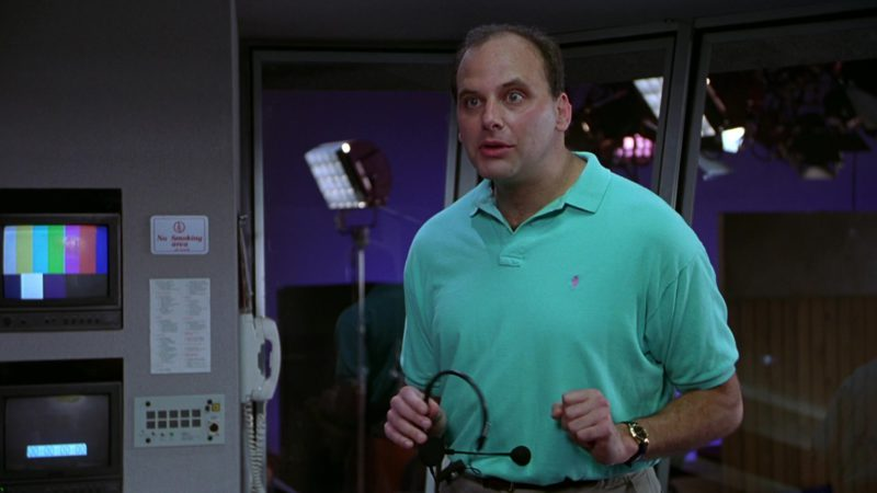 Ralph Lauren Men's Polo Shirt Worn by Kurt Fuller in Wayne's World (1992) Movie Product Placement