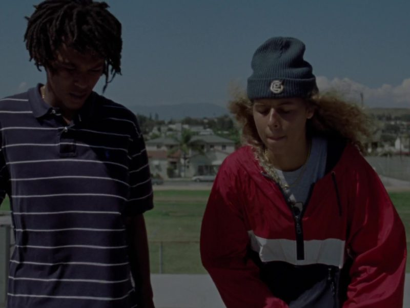 Ralph Lauren Polo Shirt Worn by Na-kel Smith in Mid90s (2018) - Movie Product Placement