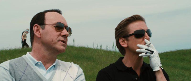 Ray-Ban Sunglasses Worn by Kevin Spacey and Bulgari Sunglasses Worn by Barry Pepper in Casino Jack (2010) Movie Product Placement