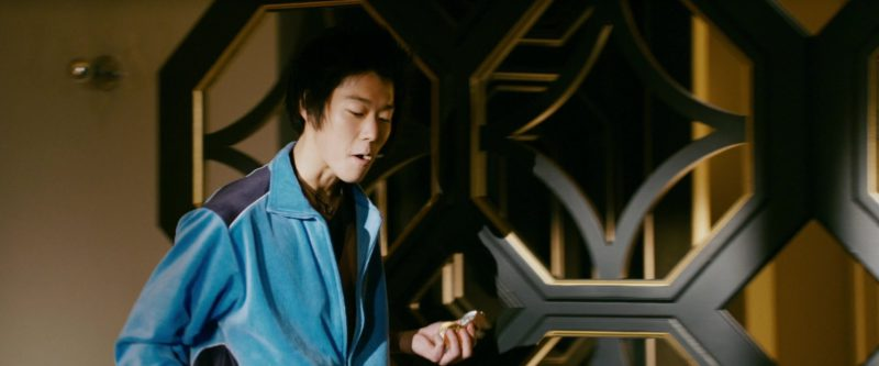Reebok Blue Tracksuit Jacket Worn by Jeff Ma in 21 (2008) Movie Product Placement